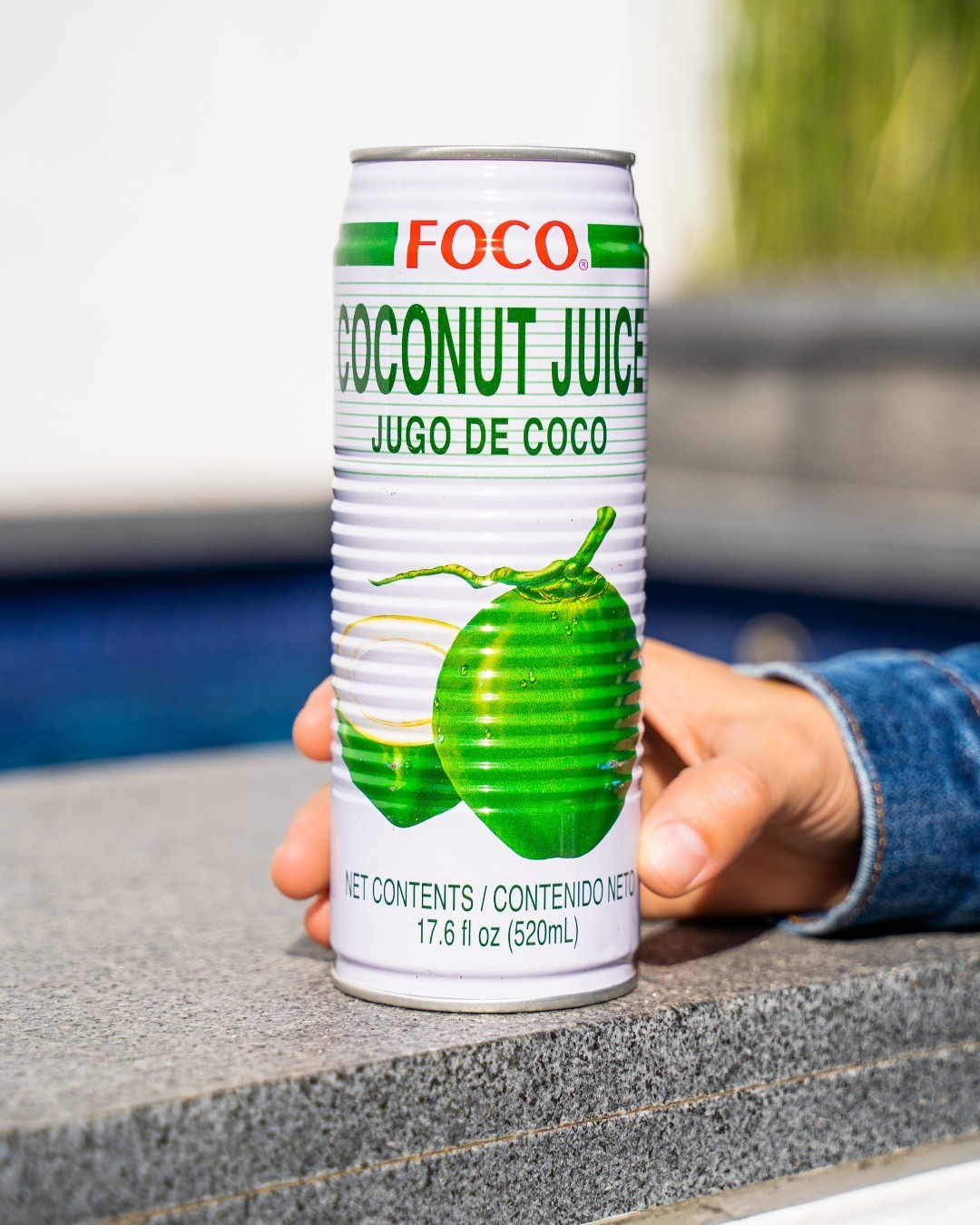 Drink more coconut juice and sip in good vibes!